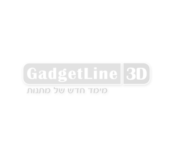 שעון קיר לבן כחול ספרות זוהרות בחשיכה באופן אוטומטי