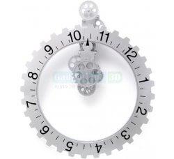 שעון קיר ענק בעיצוב גלגל שיניים